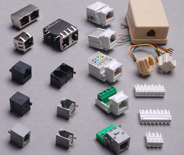 Tinklo jungtys / Ethernet connectors