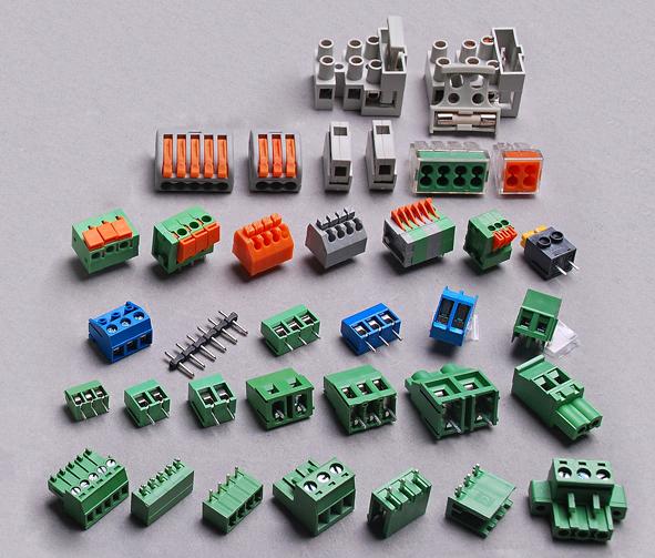 Kontaktinės kaladėlės / terminal blocks