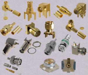 Koaksalinės jungtys / Coaxial connectors