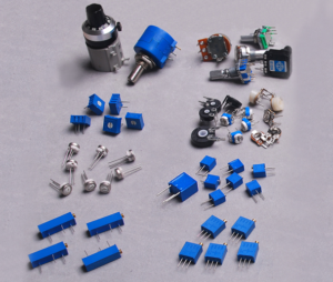 Potenciometrai / Potentiometers